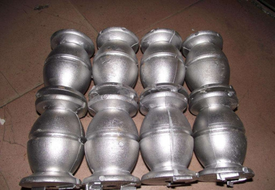 What is the method of precision casting of silica sol?