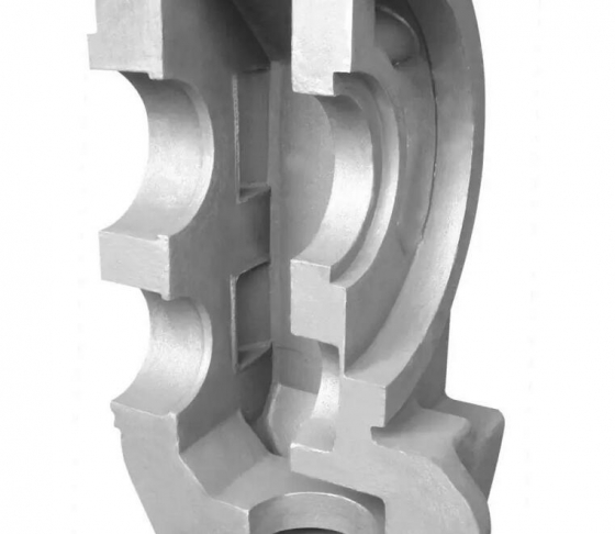 resin bonded sand casting